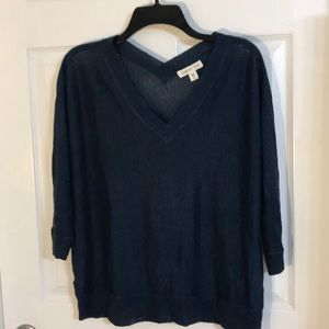 Light and airy Double v neck sweater